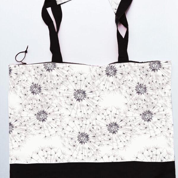 Tas gemaakt van katoen met dessin Pluisjes